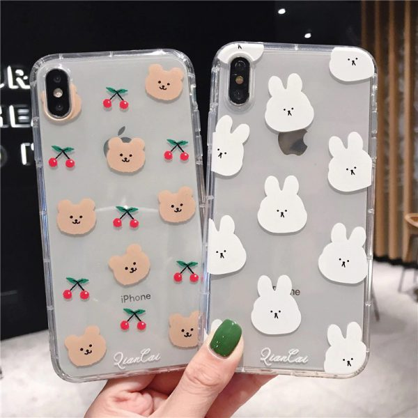 Rabbit Bear iPhone Case - FinishifyStore