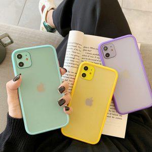 Shockproof Hybrid iPhone Case - FinishifyStore