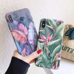 leaves iPhone cases - finishifystore