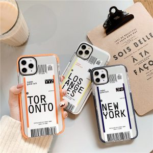 Boarding Pass iPhone Case