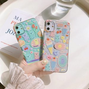 Bear Clear iPhone 11 Pro Case - FinishifyStore