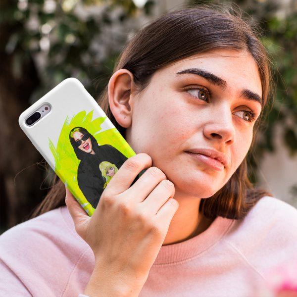 Billie Eilish Green Case iPhone