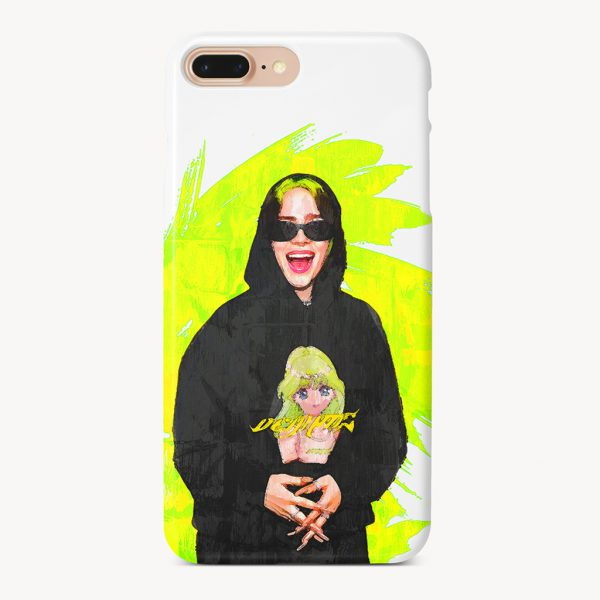 Billie Eilish Green Style iPhone 7 Plus Case