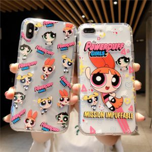Powerpuff Girls Clear iPhone Case - FinishifyStore