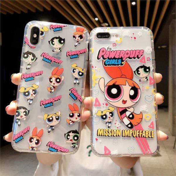 Powerpuff Girls Clear iPhone Case - FinishifyStore