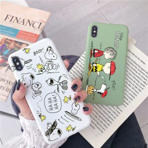 Charlie Brown Design iPhone X Case