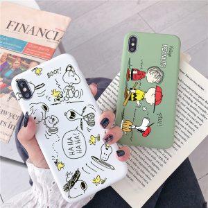 Charlie Brown Design iPhone X Case