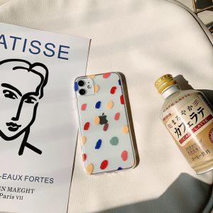 Colored Spots iPhone Case - FinishifyStore