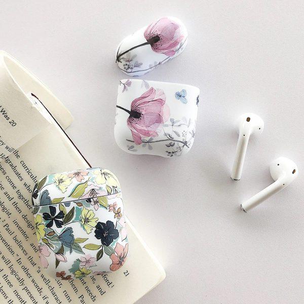 Cute Art Flowers Design Airpods Apple - FinishifyStore