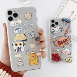Cool Stickers iPhone 11 Pro Max Case - FinishifyStore