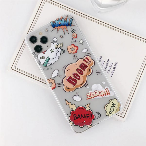 Cool Stickers iPhone Case 11 Pro Max - FinishifyStore
