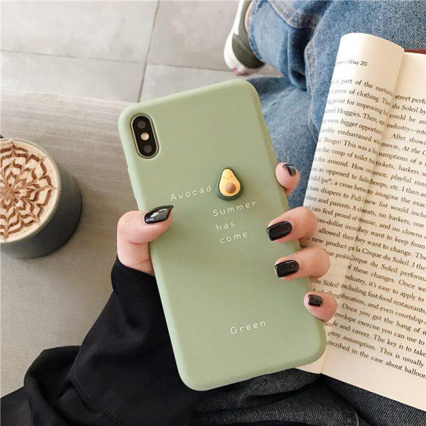 Green Avocado iPhone Case - FinishifyStore