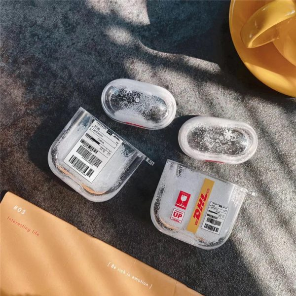 DHL Label Quicksand AirPods Cases