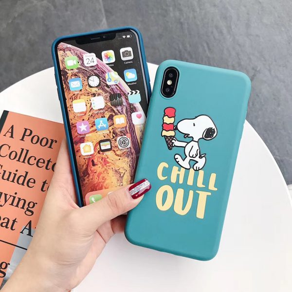 Funny Peanuts iPhone X Case - FinishifyStore