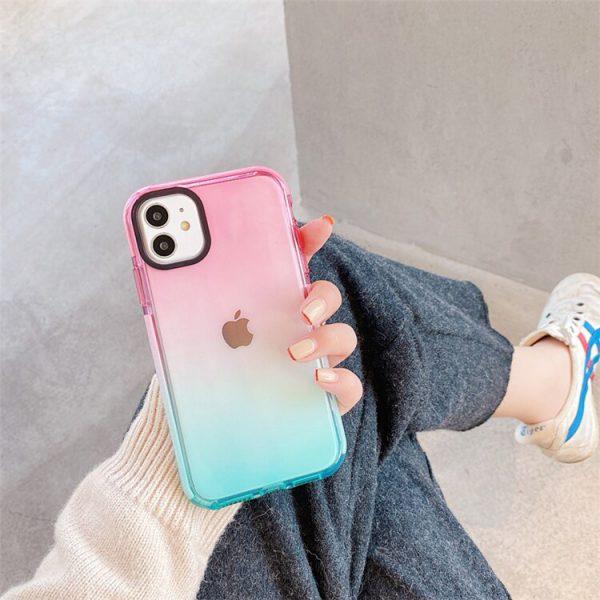 Gradient Rainbow Design iPhone 11 Case