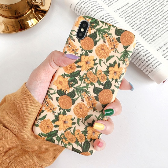 illustration floral iPhone Case - FinishifyStore