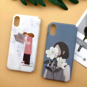 illustration Girls iPhone Case - FinishifyStore