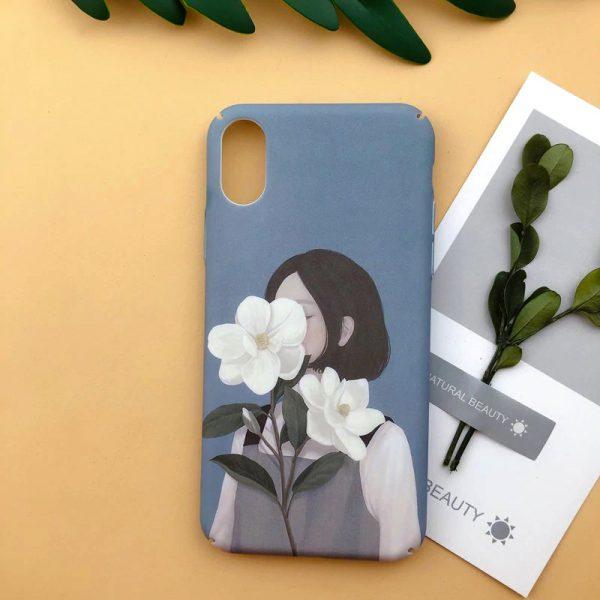illustration Girls iPhone X Case - FinishifyStore