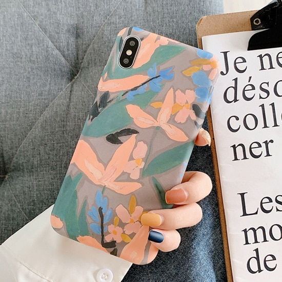 illustration floral iPhone X Case - FinishifyStore