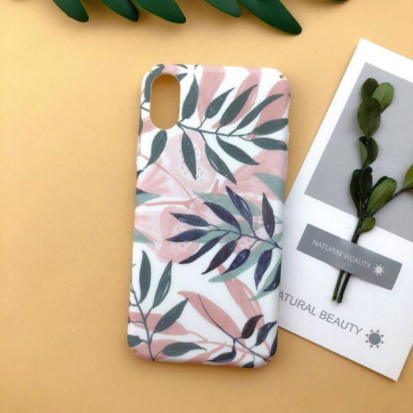 illustration Flowers iPhone X Case - FinishifyStore