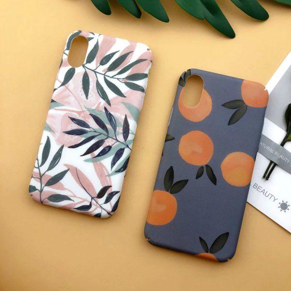 illustration Flowers iPhone Case - FinishifyStore