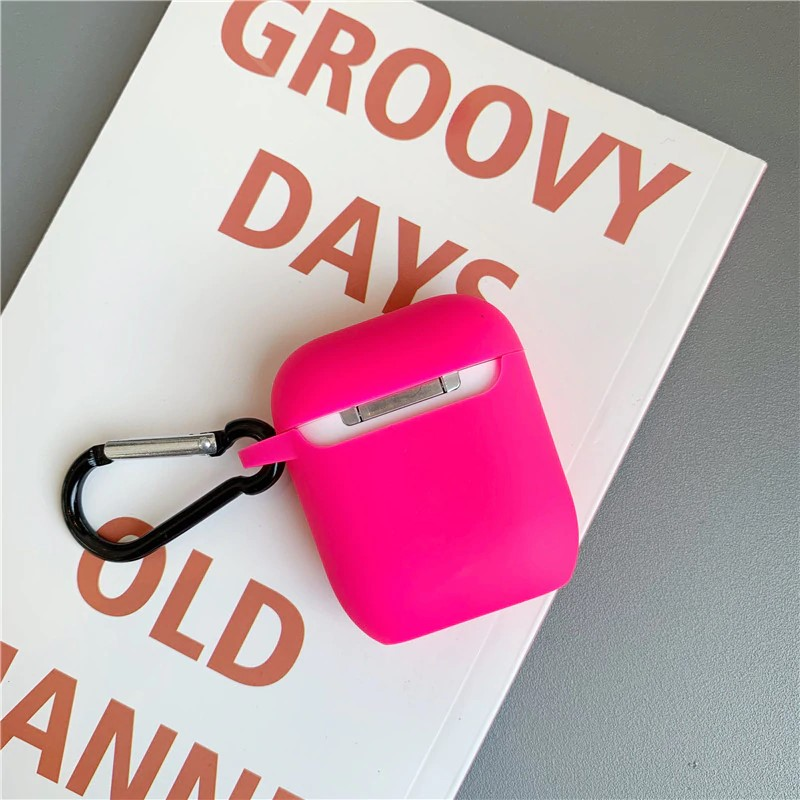 Neon Pink AirPods Case - FinishifyStore