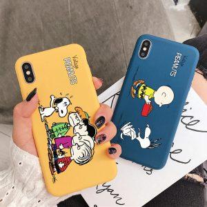 peanuts iPhone X case - finishifystore