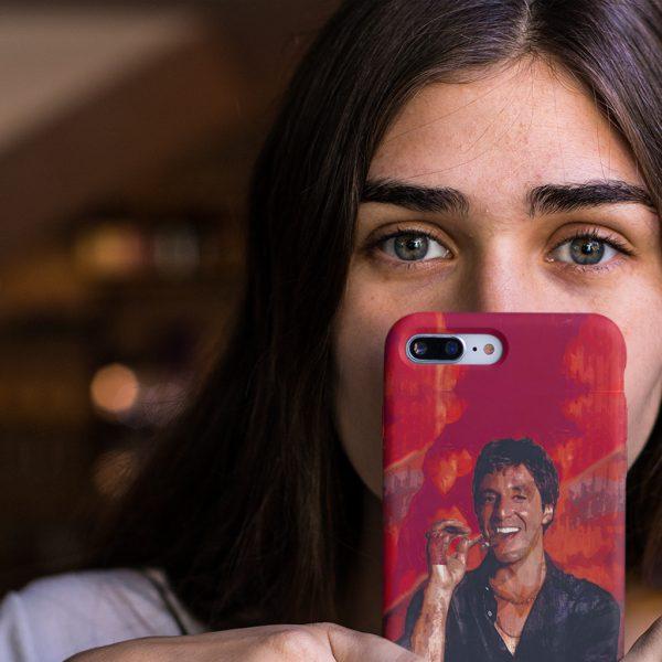 Scarface Tony Montana iPhone Case
