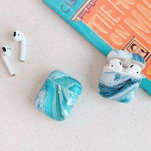 marble airpods case - finishifystore