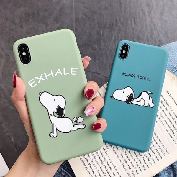 snoopy iPhone X case - finishifystore
