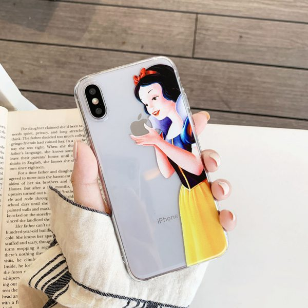 Snow White Clear iPhone X Case - FinishifyStore