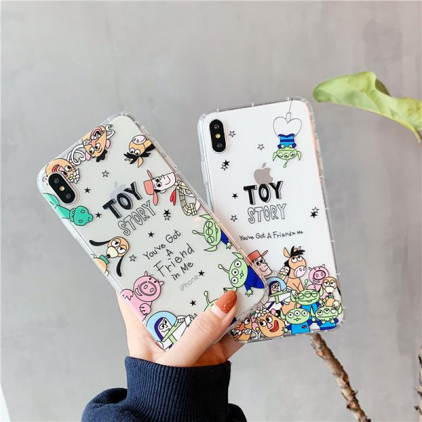 Toy Story Clear iPhone X Case - FinishifySore