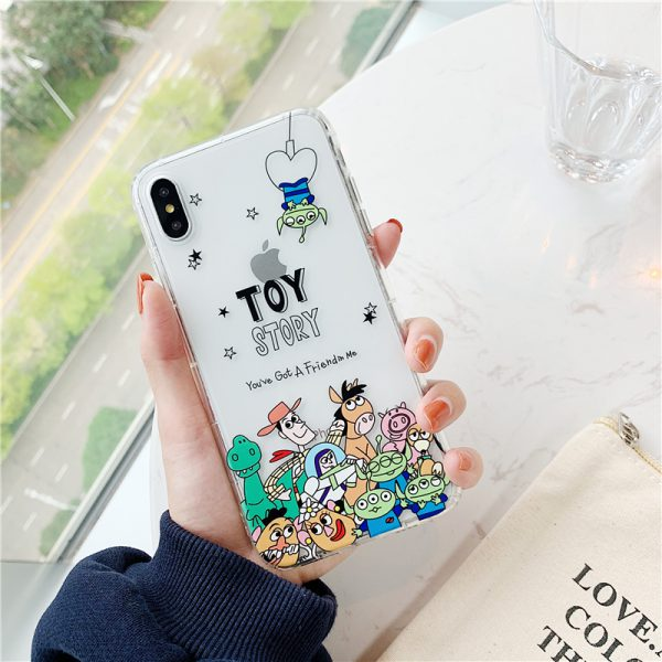 Toy Story Friends iPhone X Case - FinishifyStore