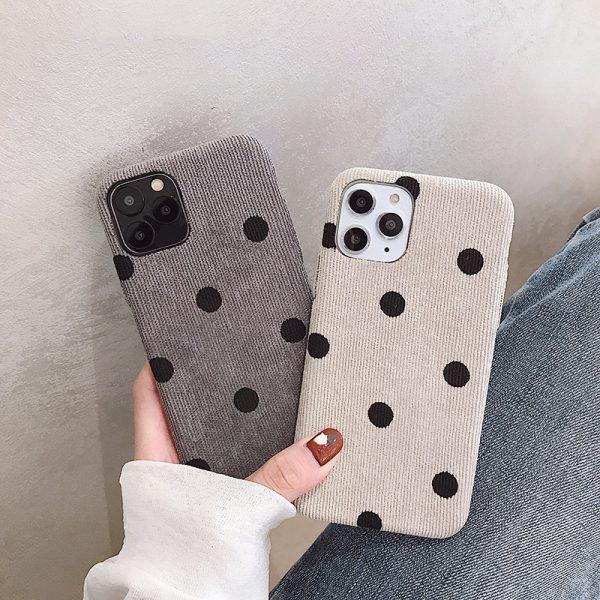 Velvet Dots iPhone Case - FinishifyStore