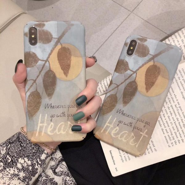 Vintage Leaves iPhone Case - FinishifyStore