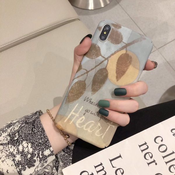 Vintage Leaves iPhone X Case - FinishifyStore
