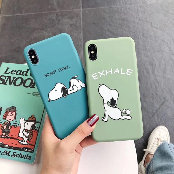 Yoga Peanuts iPhone Case - FinishifyStore