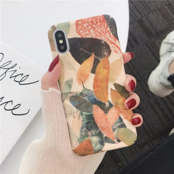 Fall Leaves iPhone X Case - FinishifyStore