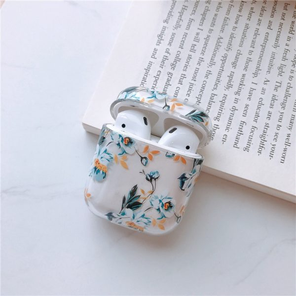 flowers AirPods case - finishifystore