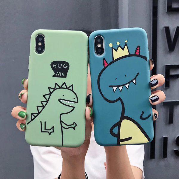 Funny Dinosaurs iPhone X Case - FinishifyStore