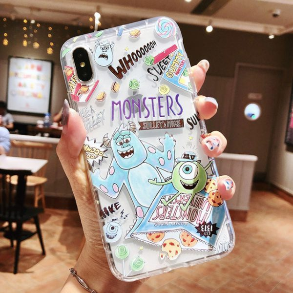 Animation Monster University Clear iPhone Case