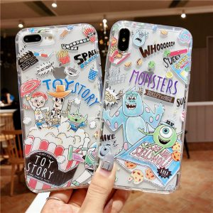 Animation Clear Toy Story Monster University iPhone Case - FinishifyStore