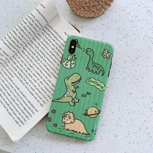 Dinosaur Green Case iPhone