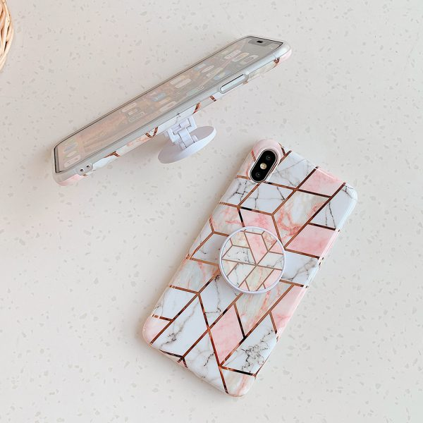 Geometric Marble iPhone X Case - FinishifyStore