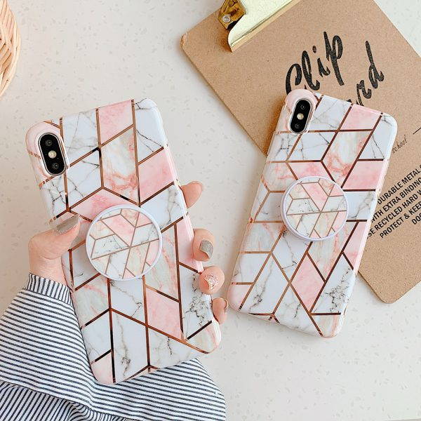 Geometric Marble iPhone Case - finishifystore