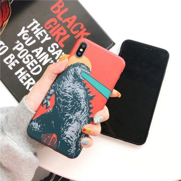 Godzilla Design iPhone Case X