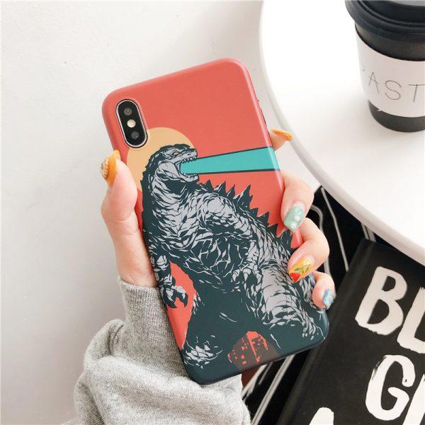 Godzilla-Design-iPhone-Xs-Case