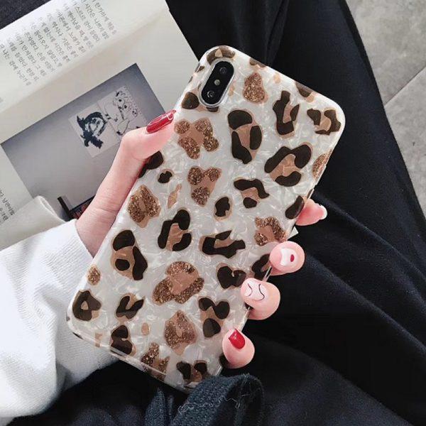 Leopard Marble iPhone Case - FinishifyStore
