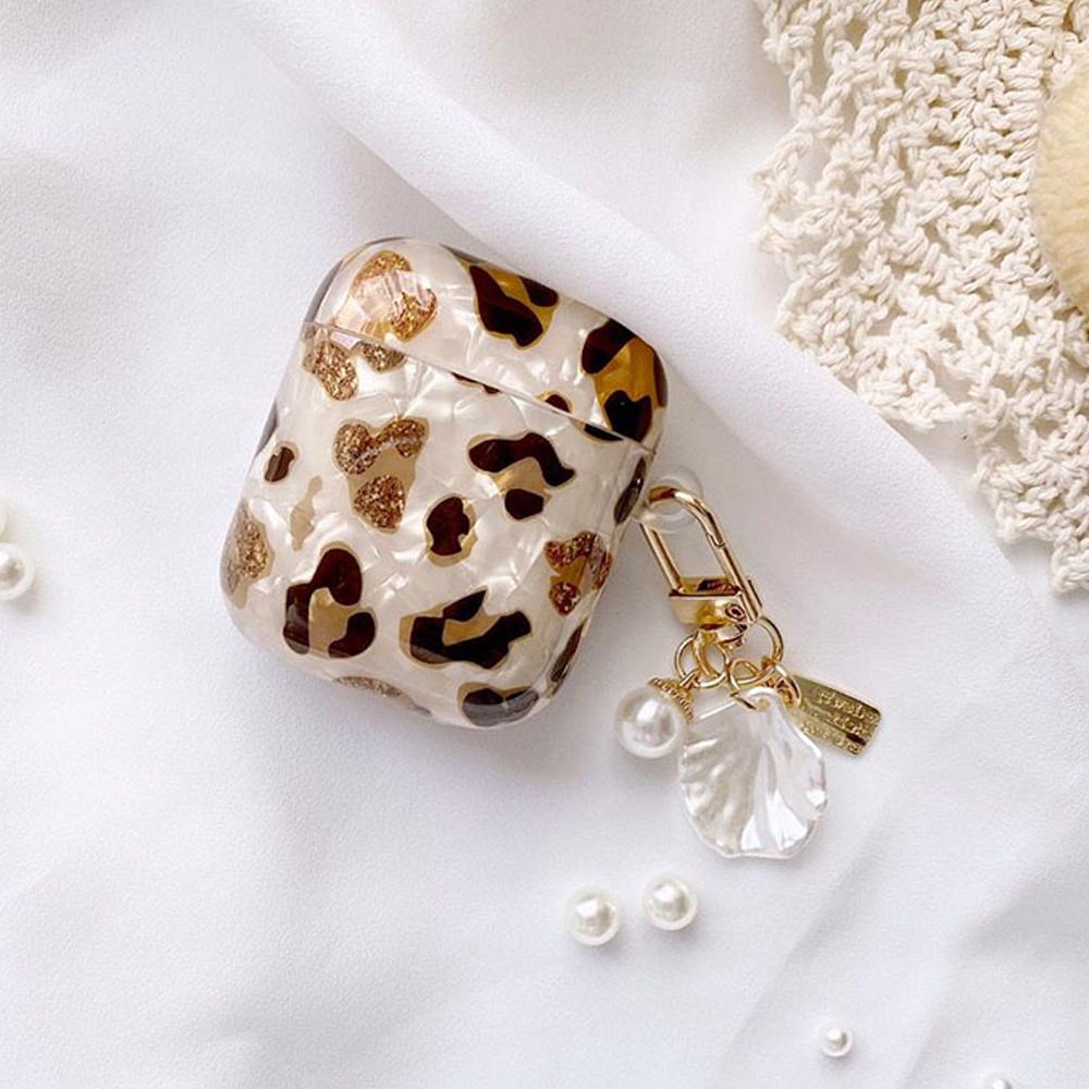 Leopard Marble AirPod Case - FinishifyStore