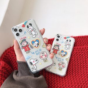 Lovely Charlie Brown iPhone 11 Pro Max Case - FinishifyStore